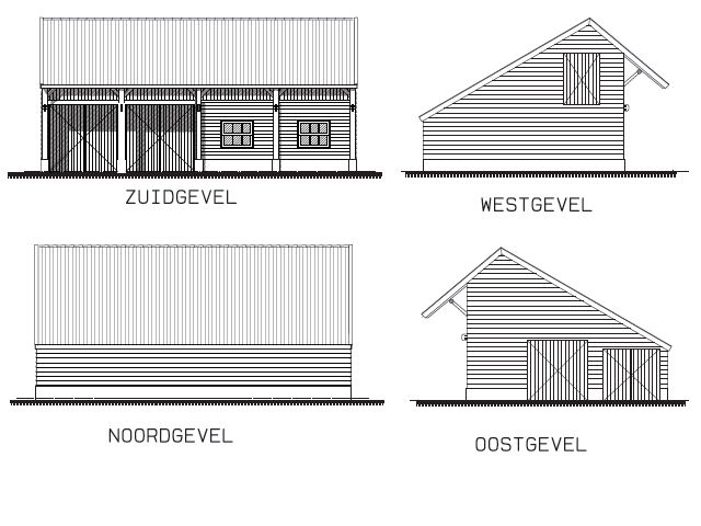 Kapschuur bouwtekening pdf