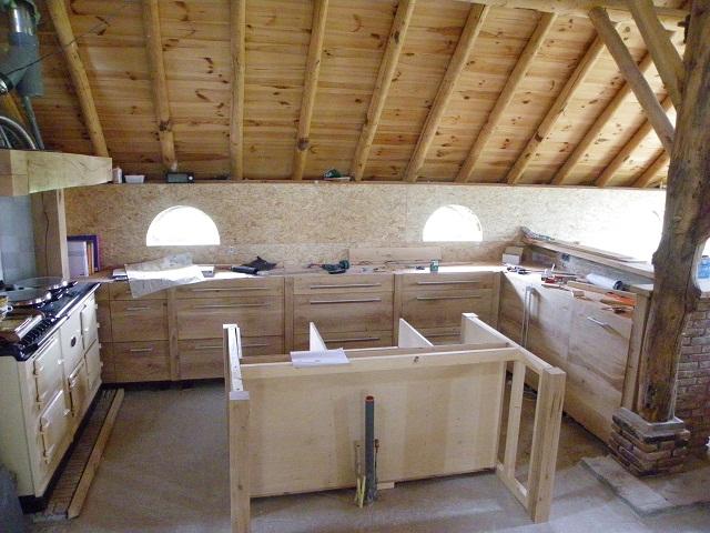 Eiken Frontjes Keuken : De keuken